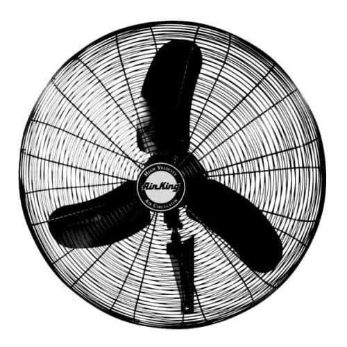 Air King 9070 30' 8780 CFM 3-Speed Industrial Grade Wall Mount Fan