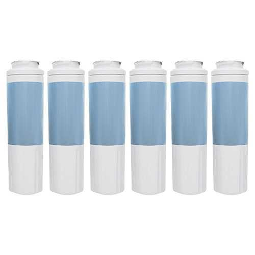 New Replacement Water Filter Cartridge For Kenmore 72003 Refrigerators - 6 Pack