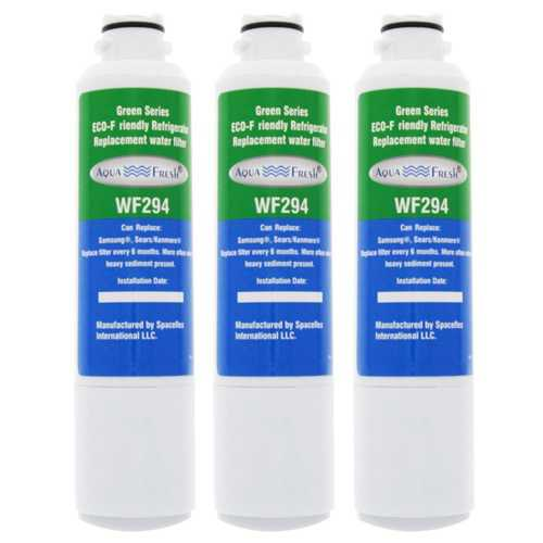 AquaFresh Replacement Water Filter for Samsung RF31FMESBSR/AA Refrigerator Model (3 Pack)